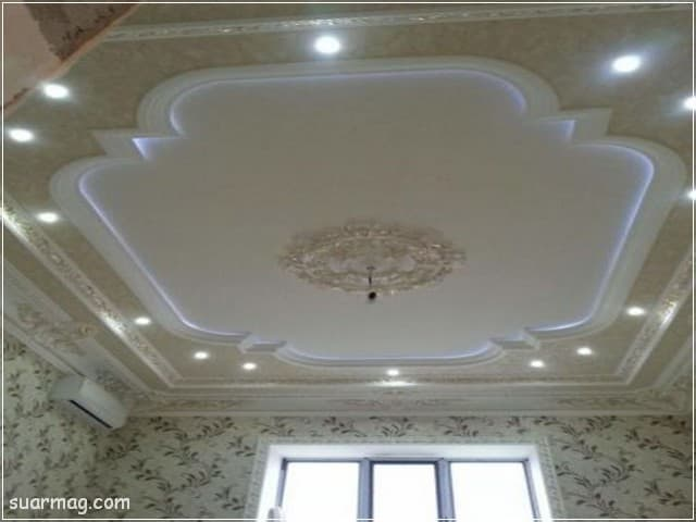 اسقف جبس بورد حديثة غرف نوم 8   Bedrooms Modern Gypsum Ceiling 8