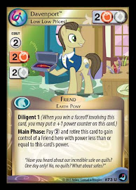 My Little Pony Davenport, Low Low Prices! High Magic CCG Card