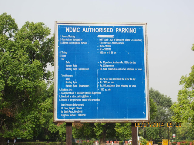 parking india gate