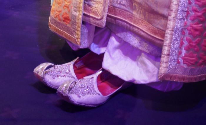 Sultan Aladdin costume slippers