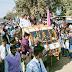 एशियन स्कूल द्वारा निकाली गई रैली,  गांधी रहे थीम में