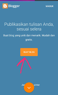 cara membuat website gratis di blogger.com