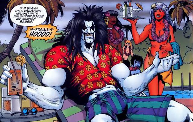lobo dc comics, Karakter DC Comics yang Mampu Merobohkan Dinding ke Empat