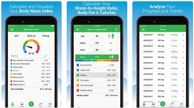 aplikasi iOS menghitung berat badan ideal
