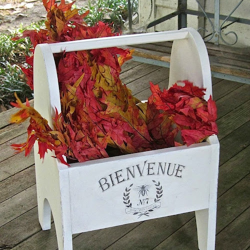 Thrift Store Wooden Planter Makeover with Patina Paradise