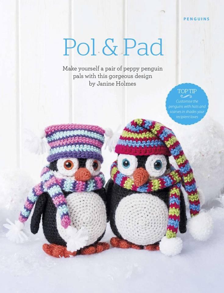 PATRONES GRATIS DE CROCHET: PINGUINOS AMIGURUMI crochet...patrón en ...