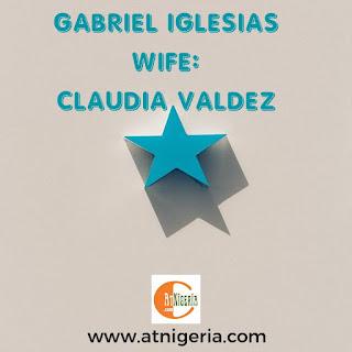Gabriel Iglesias' Wife: Claudia Valdez