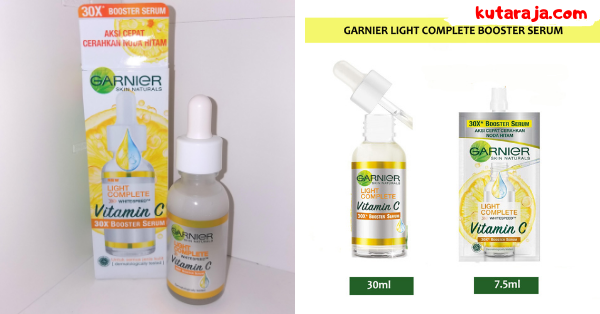 Review Dan Manfaat Garnier Booster Serum