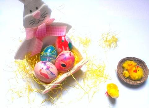 Marble Easter Eggs