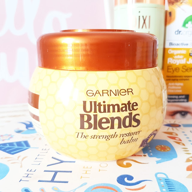 Currently Testing  | Garnier Ultimate Blends Honey Treasures Collection
