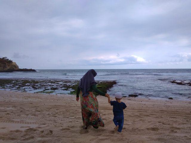liburan keluarga pulau tidung