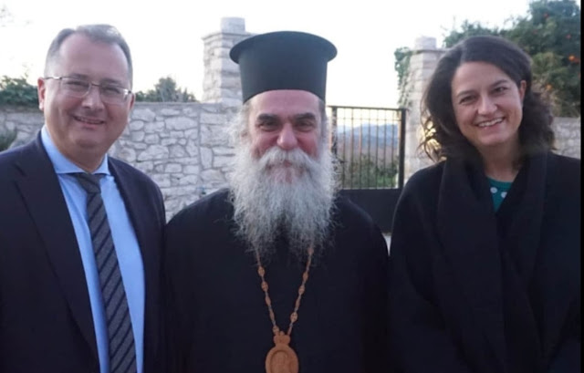 Με τον Αργείο Μητροπολίτη Άρτης Καλλίνικο συναντήθηκε η Υπουργός Παιδείας