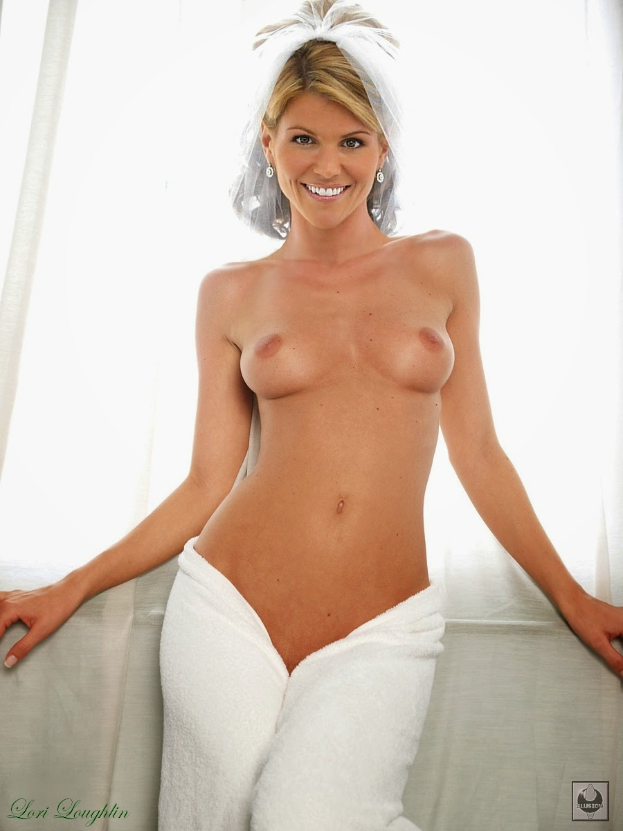 Topless nude lori loughlin