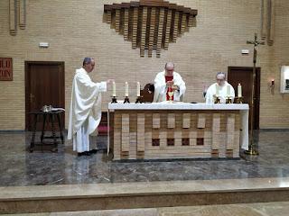 Misa en la cena del Señor, Jueves Santo, 9-IV-20