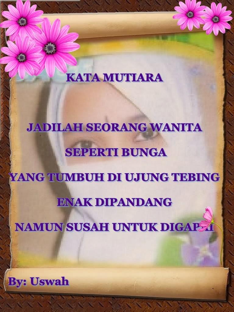 populer gambar bunga dan kata kata mutiara