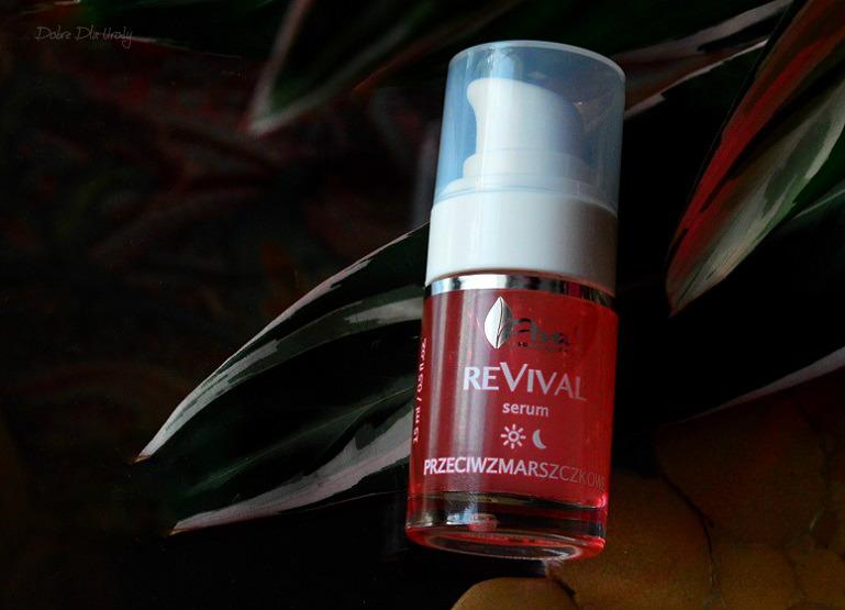 Ava Laboratorium ReVival Serum przeciwzmarszczkowe recenzja