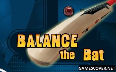 Play Balance The Bat Cricket Game