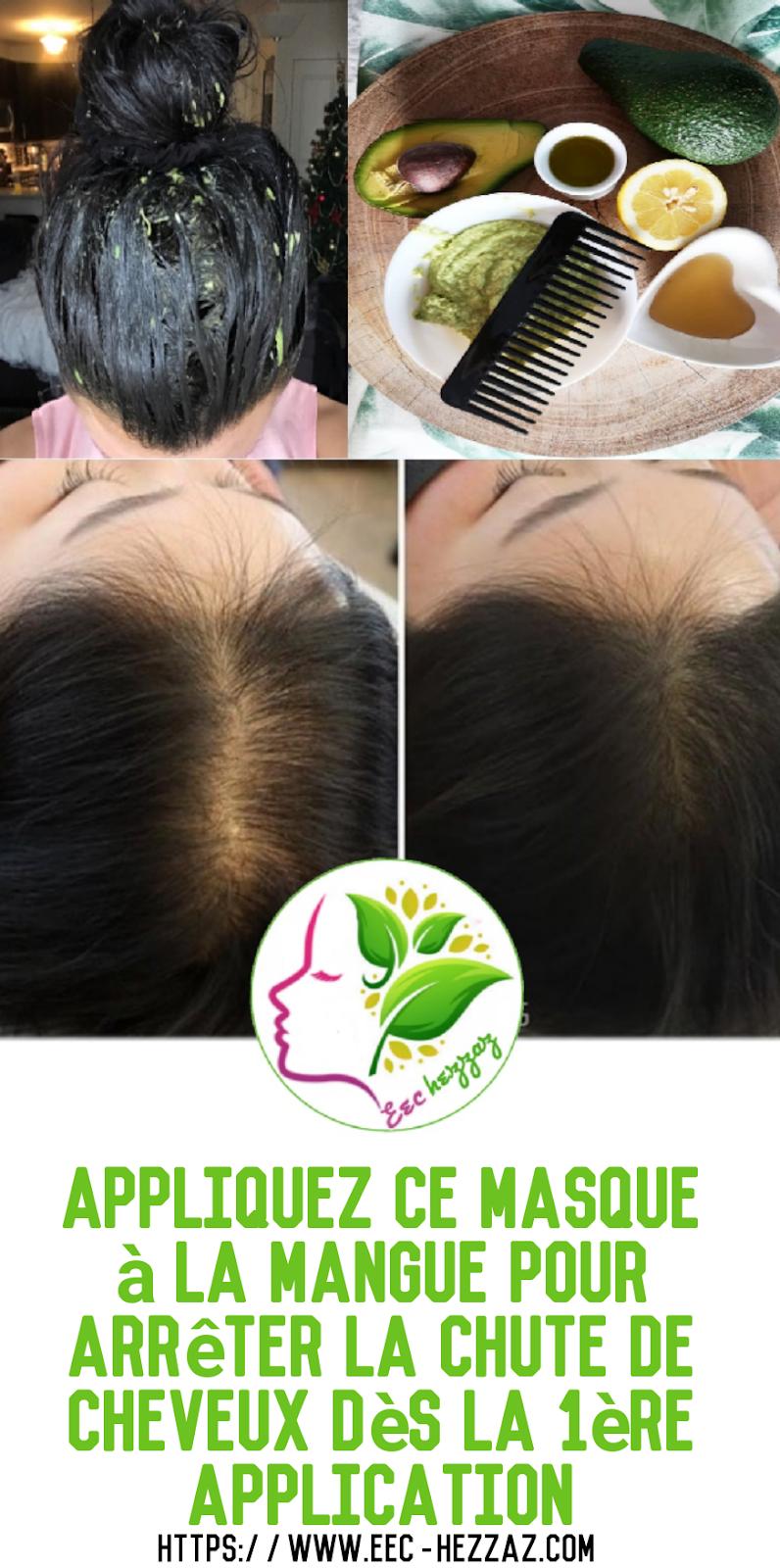 Appliquez ce masque à la mangue pour arrêter la chute de cheveux dès la 1ère application