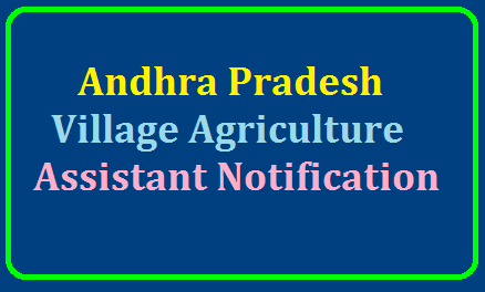 Andhra Pradesh Village Agriculture Assistant Notification 2019/2019/07/andhra-pradesh-village-agriculture-assistant-notification-2019-apply-online-gramasachivalayam.ap.gov.in.html