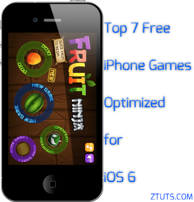 top games for iphone top 7 free iphone optimized for ios 6 tips tricks 2093