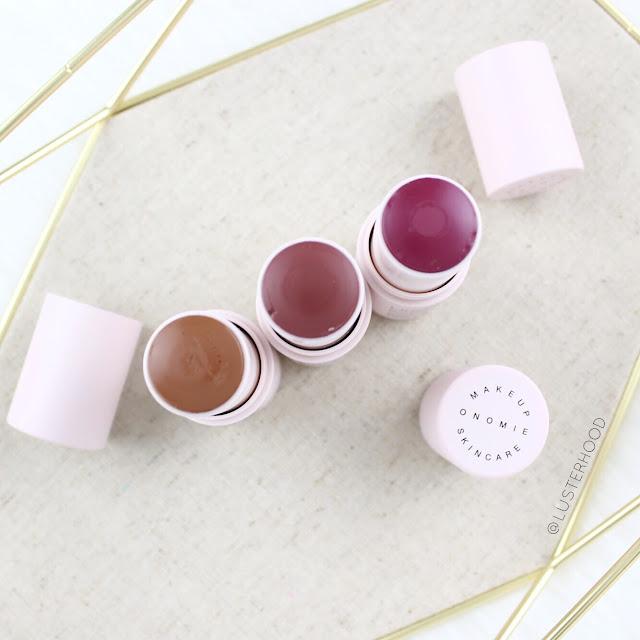 Onomie Beauty Boosting Lip Cheek Stick |  Lusterhood
