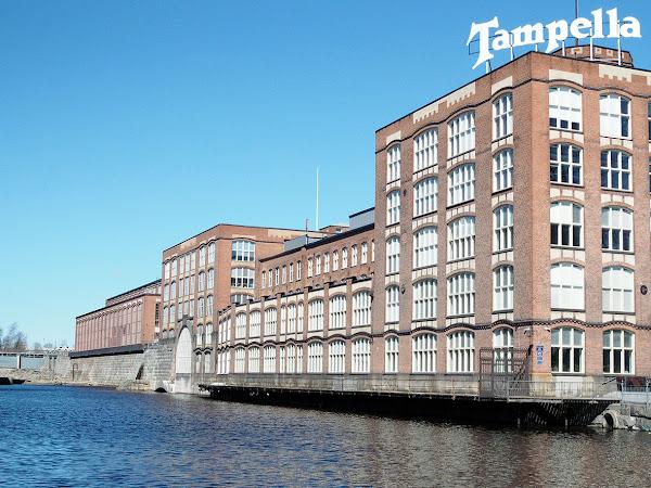 Mahtava kevätpäivä Tampereella