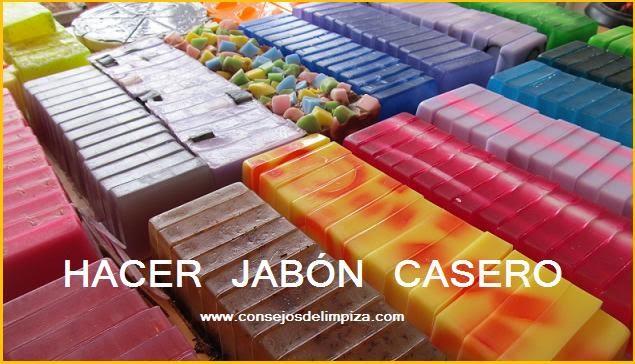 Recetario de jabones de elaboraci n casera consejos de - Fabricar jabon casero ...