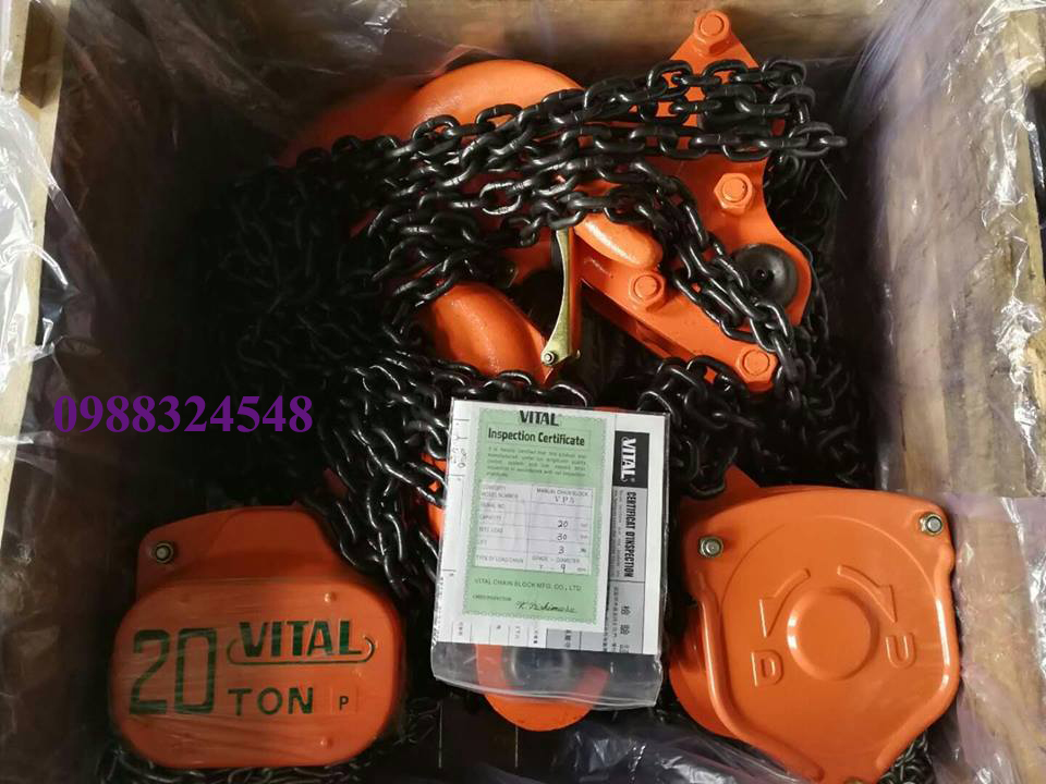 palang kéo tay Vital VP5-200 20000kg