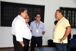 Fantin reivindica soluções ágeis para a Saúde de Registro e do Vale do Ribeira em visita técnica do Secretário Estadual