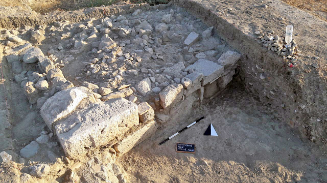Excavations continued this year at ancient Alasarna on Greek island of Kos