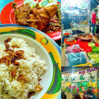 Ayam Penyet Mas Baba Samping Irian Supermarket Pasar 9