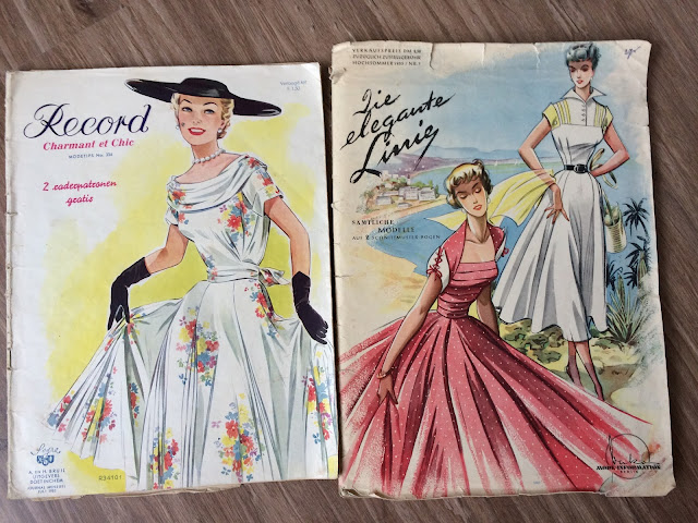 Record/ Die Elegante Linie Sewing Pattern Magazines