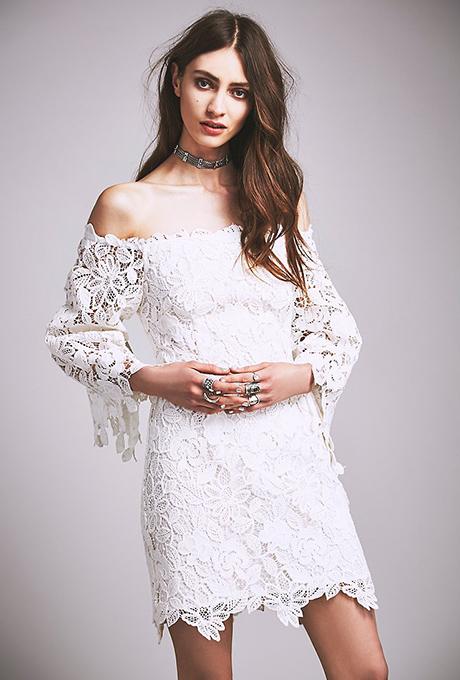 Alencon Lace Bridal, Wedding Gown Draped Shoulder | fashion wedding ...
