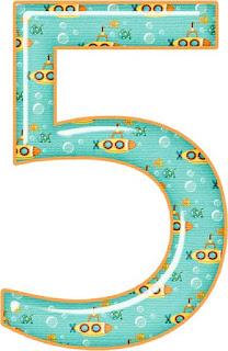 Números con Submarinos.