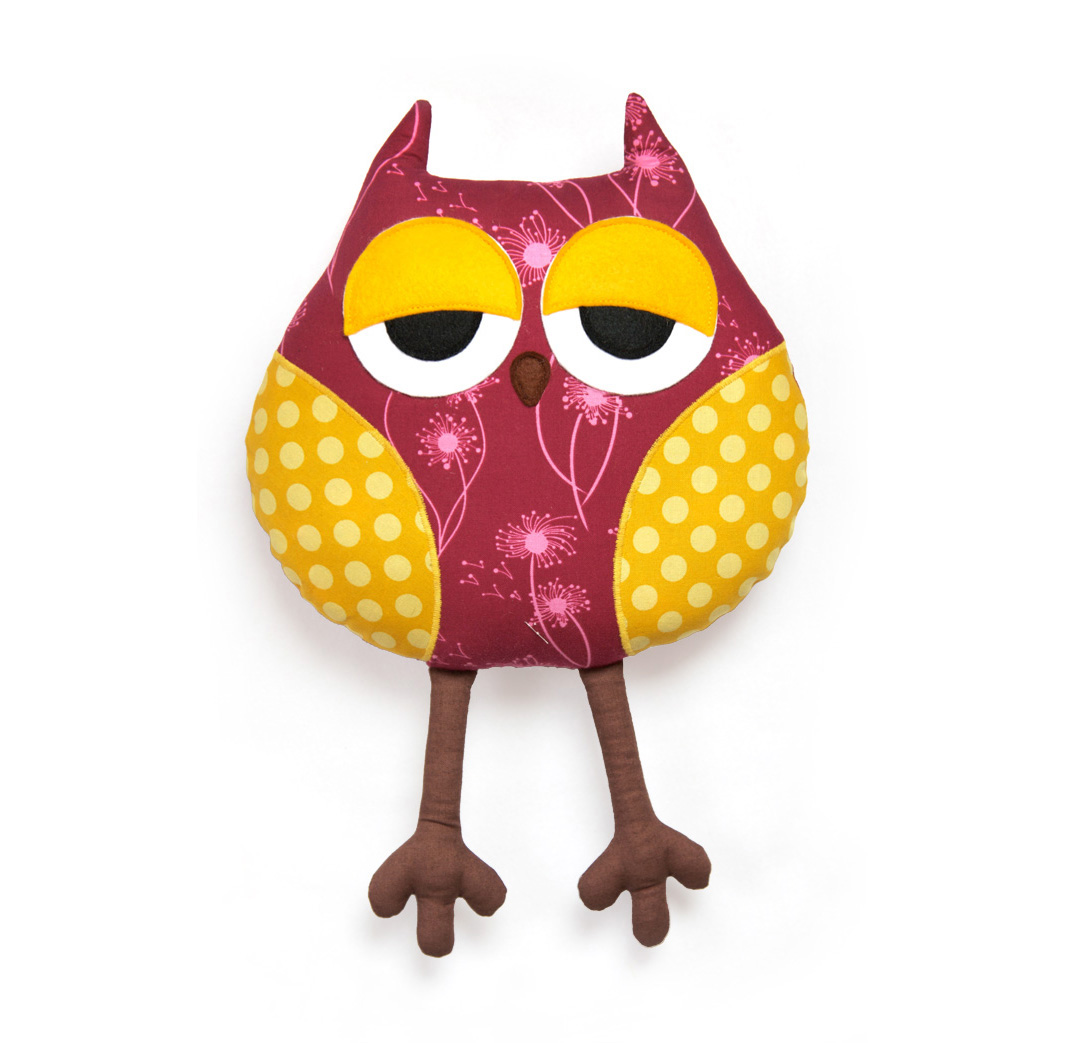 Stuff Owl Toy Patterns By Diy Fluffies Owl Pattern