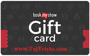book my show Offer- Get 5000 INR Gift Card At 2640 INR only At Ebay! Ebay Loot