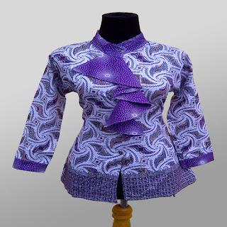 aneka model baju batik