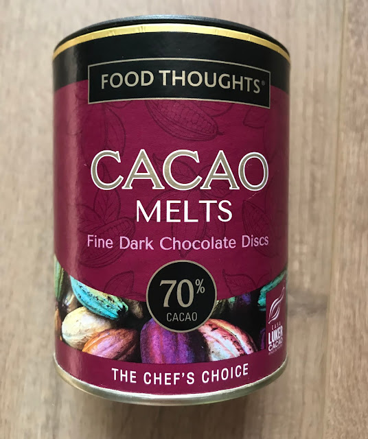 Food Thoughts Cacao Melts Fine Dark Chocolate Discs