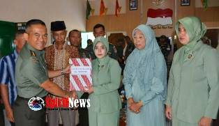Keluarga Almarhum Pratu Ansar Apresiasi Kepedulian Pimpinan TNI AD