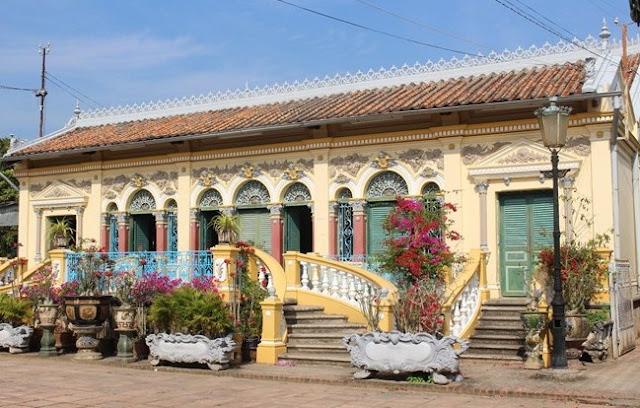 Kiến trúc vô cùng độc đáo của những căn nhà cổ thời Pháp thuộc