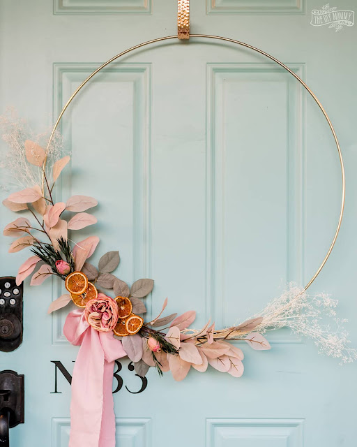 DIY Romantic Boho Fall Wreath
