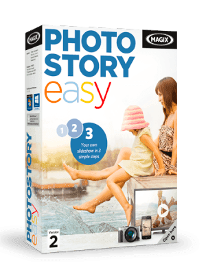 MAGIX Photostory Easy box