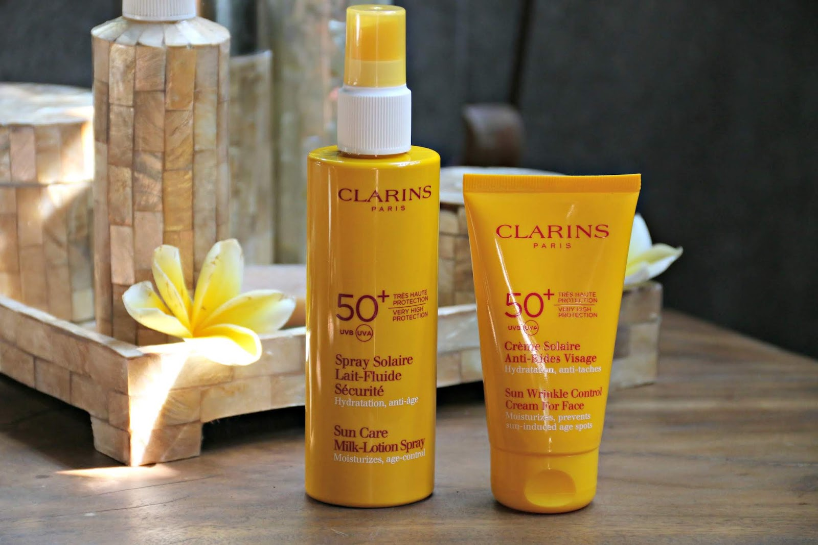Clarins SPF 50+ Review By UK Beauty Blogger WhatLauraLoves