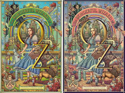 The Wonderful Wizard of OZ Screen Print by Ise Ananphada x Mad Duck Posters