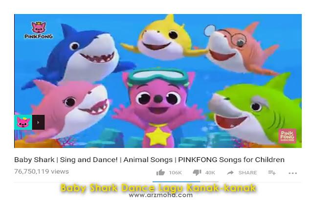 baby shark dance, lagu kanak-kanak, baby shark dance lagu kanak-kanak, aktiviti bersama anak hari cuti, baby shark doo doo doo doo doo, kisah anak blogger,