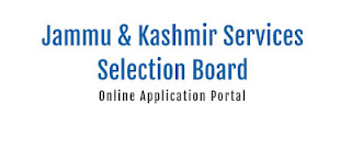 JKSSB Recruitment notification 04 of 2020