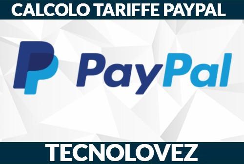 Come calcolare le tariffe e le commissioni di PayPal