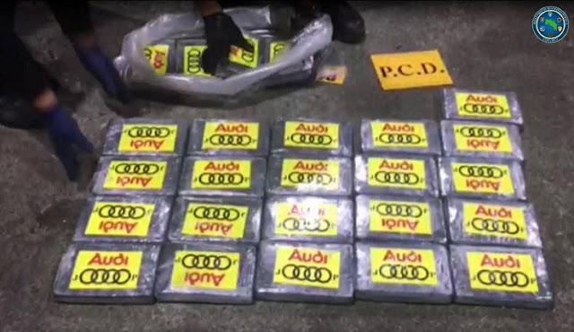 Kosta Rika Sita 4,3 Ton Kokain Asal Kolombia, Terbesar Ke-2 dalam Sejarah