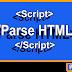 Cara Membuat Alat Parse HTML Blogger