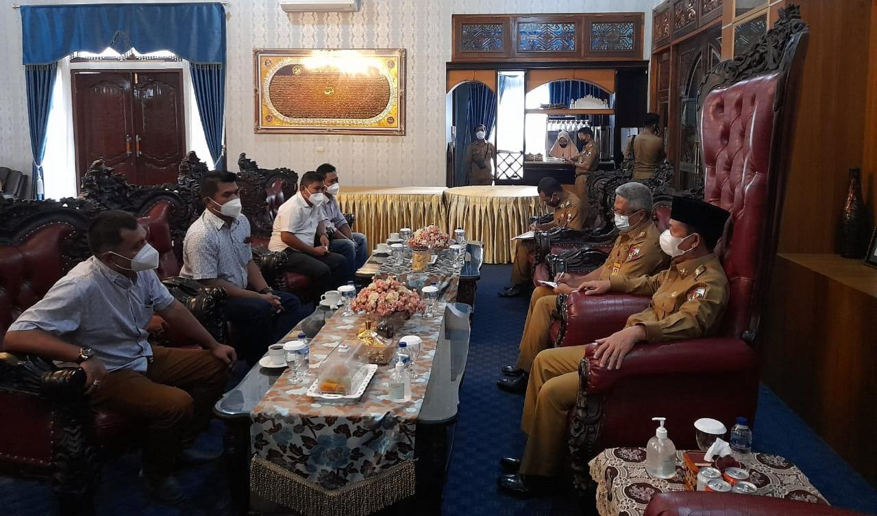 Hadir di Lampura, Askonas Berjanji Akomodir Para Kontraktor Muda Profisional